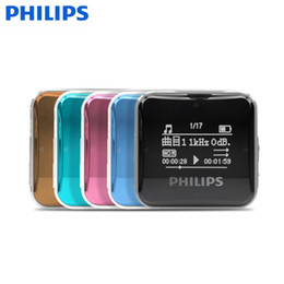 """Wholesale philips quality - PHILIPS SA2208 Original Sports MP3 Music Player with 8GB 0.9"""" Screen Display High Quality Lossless Recorder Usb Cable Earphone"""