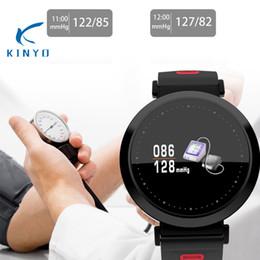 2019 guarda le chips Monitor intelligente di frequenza cardiaca della vigilanza di frequenza cardiaca del grande schermo NRF52832 Monitoraggio di sonno di ossigeno del sangue del chip Smart Bracele per gli sport sconti guarda le chips
