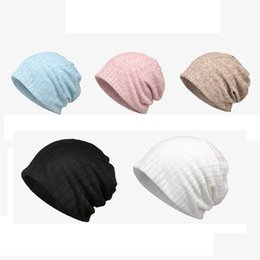 2019 casquette de tête de plage Chapeau de tête mince respirant sauvage rebondissent les femmes de coton mou conviennent à chapeau de parasol de sports de plage promotion casquette de tête de plage