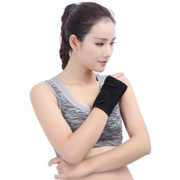 Wholesale left hand wholesalers - Wrist Splint Carpal Tunnel Hand Palm Brace Support for Arthritis Sprains Strains Right Or Left Hand 1 pc Support FBA Drop Shipping G896Q