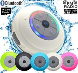 2019 haut-parleurs de la barre de son bluetooth Sans fil Portable Mini Q9 LED Étanche Bluetooth Haut-Parleur Musique Son Eau Haut-parleurs De Voiture Résistant Salle De Bains Barre De Douche PK A9 C6 promotion haut-parleurs de la barre de son bluetooth