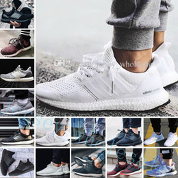 Wholesale browning dog - Ultra Boost 2.0 3.0 4.0 UltraBoost mens running shoes for men sneakers women Sports UB CNY Dog Snowflake Core Triple Black All White Grey