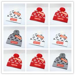 Top Venda de Luxo Homens Mulheres Gorros Carta Bordado Gorros De Malha Caps Homens Mulheres Esporte Chapéus de Esqui Hight Qualidade de