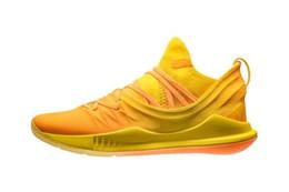 china asien Rabatt Neue Curry 5 Asien Tour China Exklusive Steph 3021708 700 Gelb Orange 2018 Herren Basketball Schuhe