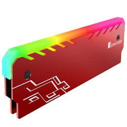 Vest soğutma JONSBO NC-1, alüminyum-magnezyum alaşımı RGB Işık etkisi Glow Masaüstü Bellek nereden