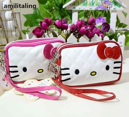 multi compartment handbags Coupons - New Hello kitty Mini Handbag make up Bag   Coins Bag yey-998W