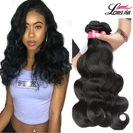 Wholesale Brazilian Body Wave Remy Hair - Grade 8A Brazilian Body Wave 3 or 4 Bundles Deals Unprocessed Brazilian Virgin Human Hair Extension Peruvian Virgin Remy Hair Body Wave