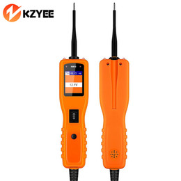 Wholesale Multimeter Circuits - KZYEE Powerscan KM10 Circuit Diagnostic Tester Car Electronic Multimeter Repair Tool PK PS100 OS2600 YD208 PT150 Power Scan Tool