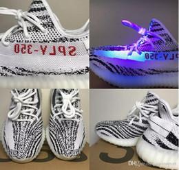 buy popular d856d 7ad4d adidas Yeezy off white Zapatos de diseñador de hielo amarillo 350 v2 de  aceite de sésamo de alta calidad Sply negro rojo 350 hombres y mujeres  zapatillas de ...
