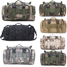 Wholesale Tactical Carrying Bags - Tactical Waist Bag By Military Style Versatile Tactical Outdoor Backpacks Hand Carry Rucksacks Camera Utility Bags Free DHL G579F