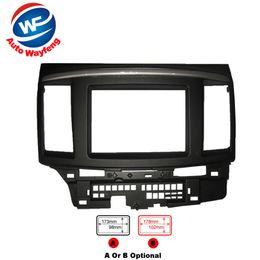 Radio fascias online-Cornice refitting per auto, cornice DVD, Dash Kit, Fascia Radio Frame, cornice audio Fit For 2010 Mitsubishi Galant Fortis, Lancer X 2DIN