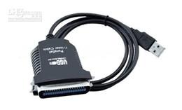 Canada Vente en gros Livraison gratuite 5 pièces / lot New USB à 36 broches parallèle IEEE 1284 Printer Cable Adapter Offre
