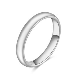 Wholesale kpop rings - CWEEL Classic Female Ring Smooth Simple Wedding Engagement Couples Rings For Man or Woman Gift Kpop Bts Acessorios