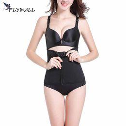 e1ec629639 FLYMALL Hot Shapers Strap Waist Trainer Vest Corset Women Zipper Hook Body  Shaper Waist Cincher Tummy Control Slimming Shapewear
