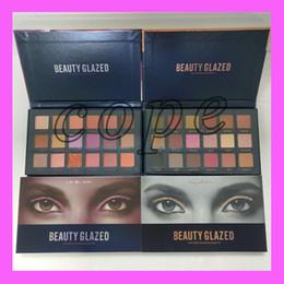 Wholesale Corrector Palette - Beauty Glazed Eyeshadow Palette 18 Colors Waterproof Eye Shadow Powder Make Up Eye Shadow Palette Cosmetics