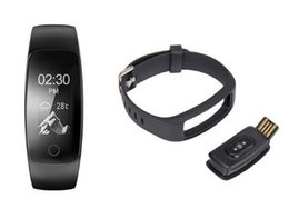 Wholesale Apple Multi Monitor - new cheap ID107 Plus HR Smart Band Bluetooth 4.0 Answer Call Smart Bracelet Heart Rate Sleep Monitor multi sports 5 displays