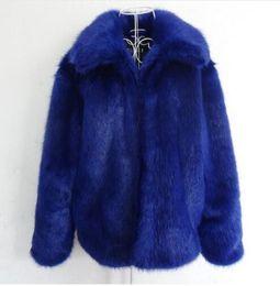 2019 manteaux d'hiver plus grand Automne-hiver épaissir chaud manteaux de fausse fourrure mens veste en cuir slim fourrure de raton laveur vestes hommes jaqueta de couro plus la taille S - 5XL promotion manteaux d'hiver plus grand