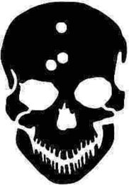 2019 auto bullet löcher Schädel mit Einschussloch Silhouette Auto Aufkleber Vinyl Auto Verpackung Auto Aufkleber Dekoration Gun günstig auto bullet löcher