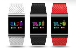 bracelet passomètre Promotion X9 Pro Écran Coloré Bracelet Intelligent Passomètre Pression Artérielle Bluetooth 4.0 Montre Moniteur de Fréquence Cardiaque pour IOS Android