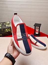 Nueva moda salvaje casual zapatos para hombre importados capa superior piel de becerro costura material original superior en la suela original original dos col desde fabricantes