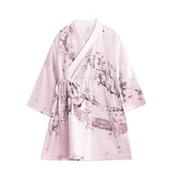 Wholesale Red Hanfu - Girls Nightgown Nightdress Hanfu New pattern Chinese style Leisure wear Baby girl Retro very Lovely beautiful