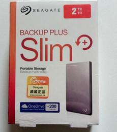 2019 жесткие диски seagate Новый 2018 Seagate Backup Plus новый фарс 2 ТБ hd externo портативный внешний жесткий диск USB 3.0 hdd 2 ТБ серебро дешево жесткие диски seagate