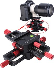 Cabezal deslizante de riel de enfoque macro de 150 mm de 4 vías con abrazadera de ajuste Arca-Swiss Placa de liberación rápida para trípode Ballhead Cámara Canon Sony desde fabricantes