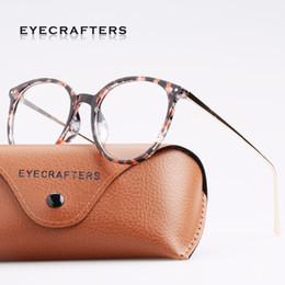 7b96d89090 2019 frauen-brillen Eyecrafters Fashion Gold Metall Retro Damen EyeGlasses  Frame Herren Brillen Frame Vintage