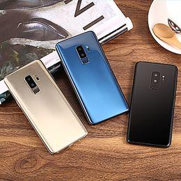 Argentina Goophone S9 Plus S9 + 6.2 pulgadas Real huella digital Real 1GB RAM 8GB ROM Mostrar falso 4g lte real 3G teléfono desbloqueado Quad Core Smartphone Suministro