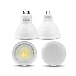2019 taches blanches en plastique Aucun Dimmable GU10 MR16 LED projecteur 220V 7W angle de faisceau de puce d'ÉPI 120/30 en plastique en aluminium cool spot de plafond de table de lumière Bombillas taches blanches en plastique pas cher
