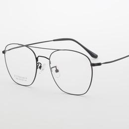 70022d49271 Pure Titanium Spectacle Frame Women Vintage Round Eyeglasses Men Computer Myopia  Optical Prescription Glasses Female Male FML