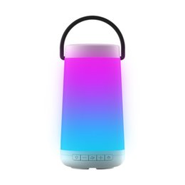 Comprar coches online-I Key Buy Pulso 3D Estéreo Portátil Estéreo Bluetooth Altavoz Inalámbrico Súper Música Altavoz para Paseo nocturno Camping BBQ coche blanco