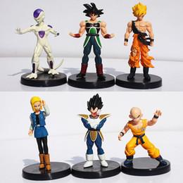 figuras coleccionables Rebajas 12 cm 6 unids   lote Dragon Ball Z Figuras  Dragonball Son Goku 85fbc51e92f