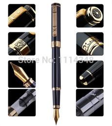 2019 caneta de ouro preto Caneta Picasso homens e mulheres verdadeiros dedicados Black Gold Fountain Pen 902 presente desconto caneta de ouro preto