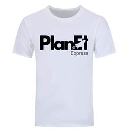 Canada T-shirts en coton à manches courtes pour hommes Futurama Robot Planet Express Summer Offre