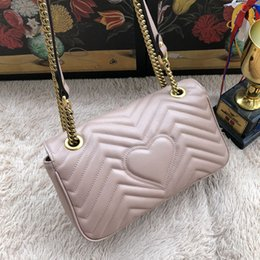 Wholesale European Hand Bags - brand new genuine leather women hand Bags medium size high quality real leather shoulder bags for lady 443
