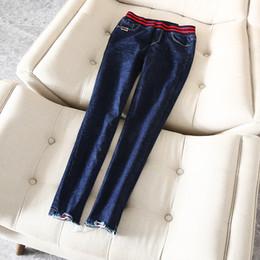 2019 nouveau pantalon design pour femme Top design! 2018 automne nouvelle arrivée bureau dame jeans pantalons pantalons femmes lady expédition gratuite HMR18480SEP5 promotion nouveau pantalon design pour femme