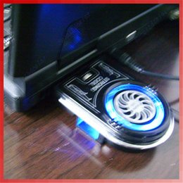 Wholesale cool cases for laptop - New Mini Vacuum USB Case Cooler Cooling Fan Idea FYD-738 For Notebook Laptop C26