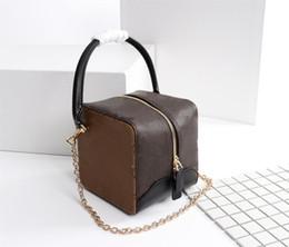 Wholesale Handbag Models - Trunk Women fashion Shoulder Bags Mini style Women Designer bags LUXURY handbags size 14*14*15 cm model 62791