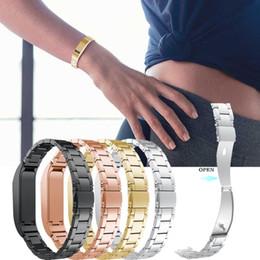 2019 полосы замещения для гибкой гитары Stainless Steel Strap Wrist Band Replacement Bracelet For Fitbit Flex Gold Watch New Dropshipping Apr 3 дешево полосы замещения для гибкой гитары