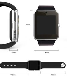 9e859566b3d 2018 novo arriwals smartwatch gt08 smart watch tecnologia wearable para  iphone samsung htc android telefone gt08-3