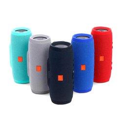 Wholesale speaker b - J-B-L charge 3 splashproof portable Refurbished wireless bluetooth mini speaker high-quality built-in 1200mAh powerbank