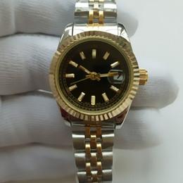 Date de la montre de strass en Ligne-Les femmes de luxe habillent les montres 26mm