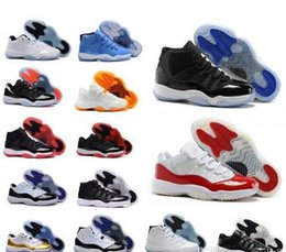 Wholesale Mens Army Boots - Wholesale (11)XI Breds Basketball Shoes 11 Space Jam Mens Sports Shoes Womens Trainers Cheap Athletics Boots 11 XI Mens Sneakers