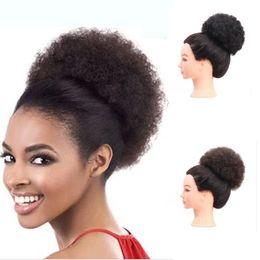 synthetic hair elastic band Promo Codes - Sara Curly Hair Chignon Bun  Hairpiece Elastic Fake Classic 1b87570e3f4