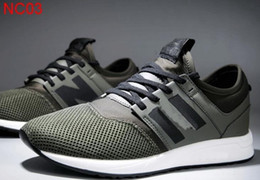 Wholesale blue n orange - 2018 New men 247 casual sports shoes N Mesh Lightweight Flat Sneakers Outdoor Zapatillas Unisex Sports Running shoes SIZE 36-44