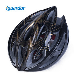 netting lights Promo Codes - Iguardor Helmet Head Protection Safety Insect-proof Net Helmet with Light Riding Effective Pest Control Cycling Accessories