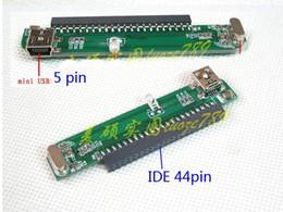 IDE 44Pin PATA Mini Usb Adaptör Kartı Yükseltici için 2.5