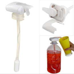 Wholesale Dispenser Tap - The Magic Tap SPILL STOPPER Electric Automatic Water & Drink Beverage Dispenser Spill Proof With Logo Packing