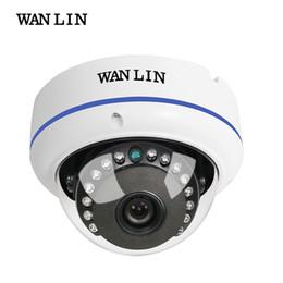 2019 cúpula câmera de segurança metal WANLIN 2MP Cúpula De Metal Vandalproof SONY IMX323 1080 P 2.0 MegaPixel Câmera de Vigilância de Segurança CCTV AHD Câmera 15 Pcs IR LED cúpula câmera de segurança metal barato